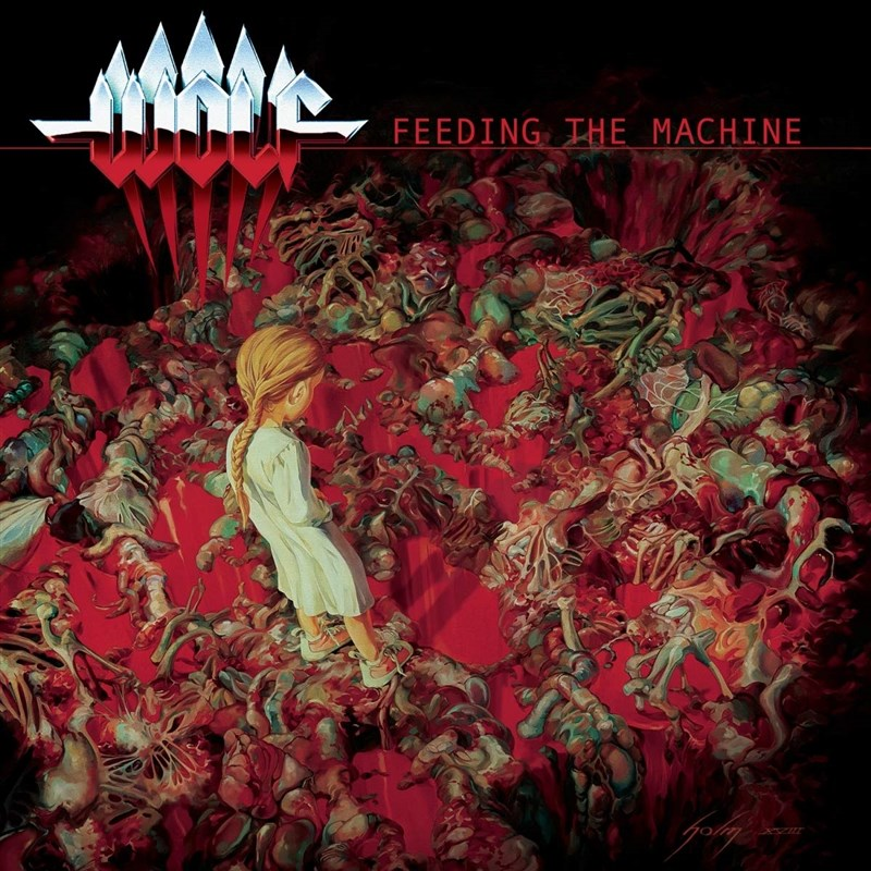 WOLF - Feeding The Machine (Ltd. CD Digipak)