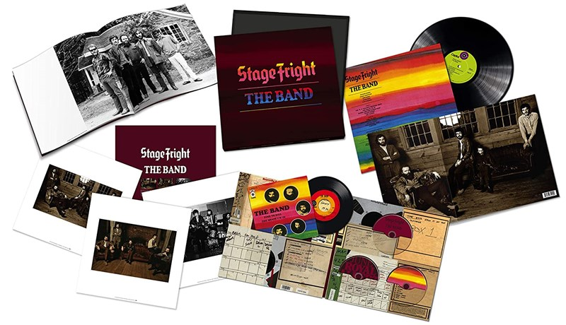 "THE BAND - Stage Fright: 50th Anniversary (2CD/Blu-ray/LP + 7"" Single) - BOX SET"