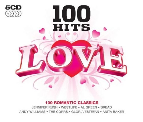 VARIOUS ARTISTS - 100 Hits Love (5CD)